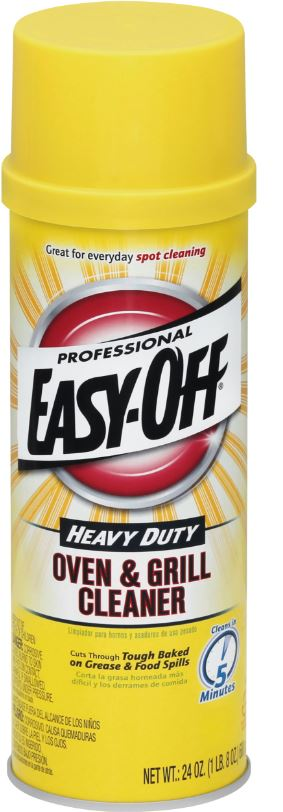 Professional EASY-OFF® Heavy Duty Oven and Grill Cleaner - Aerosol