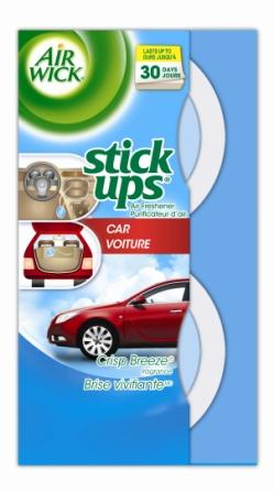 AIR WICK STICK UPS Air Freshener  Crisp Breeze Car Photo