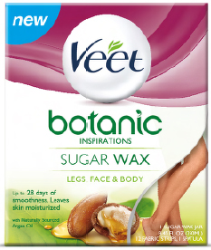 VEET® Botanic Inspirations™ Warm Sugar Wax - Sensitive Formula