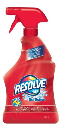 RESOLVE® OXI-ACTION™ Pre-Treat Laundry Stain Remover - Trigger