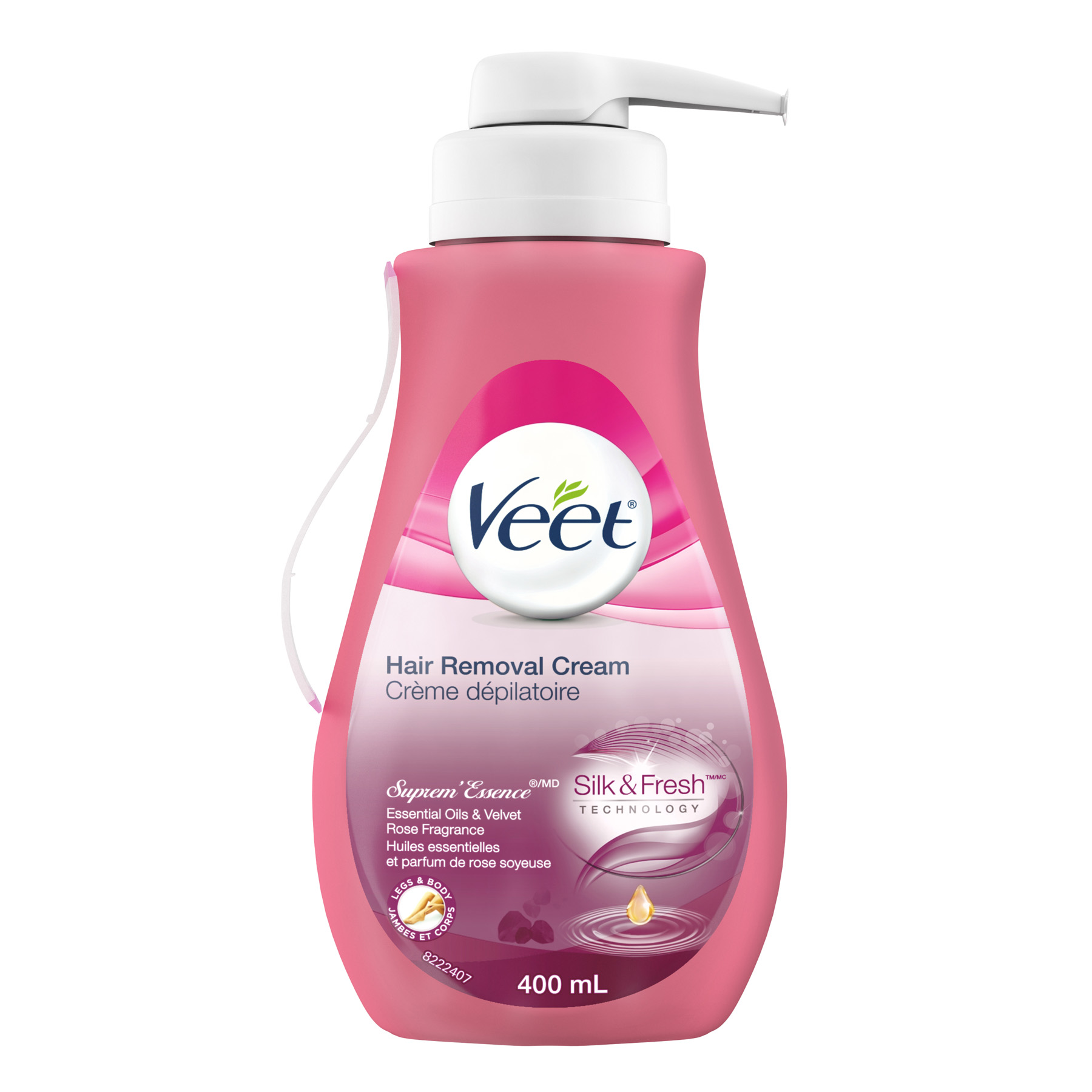 VEET® SUPREM'ESSENSE Hair Removal Cream Silk & Fresh™