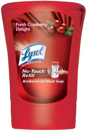 LYSOL NoTouch Hand Soap  Cranberry Cheer Discontinued Photo