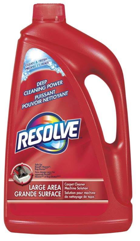 RESOLVE Clean  Fresh Large Area Carpet Cleaner Machine Solution Canada Photo