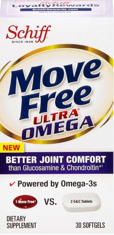 MOVE FREE Ultra Omega Softgels Photo