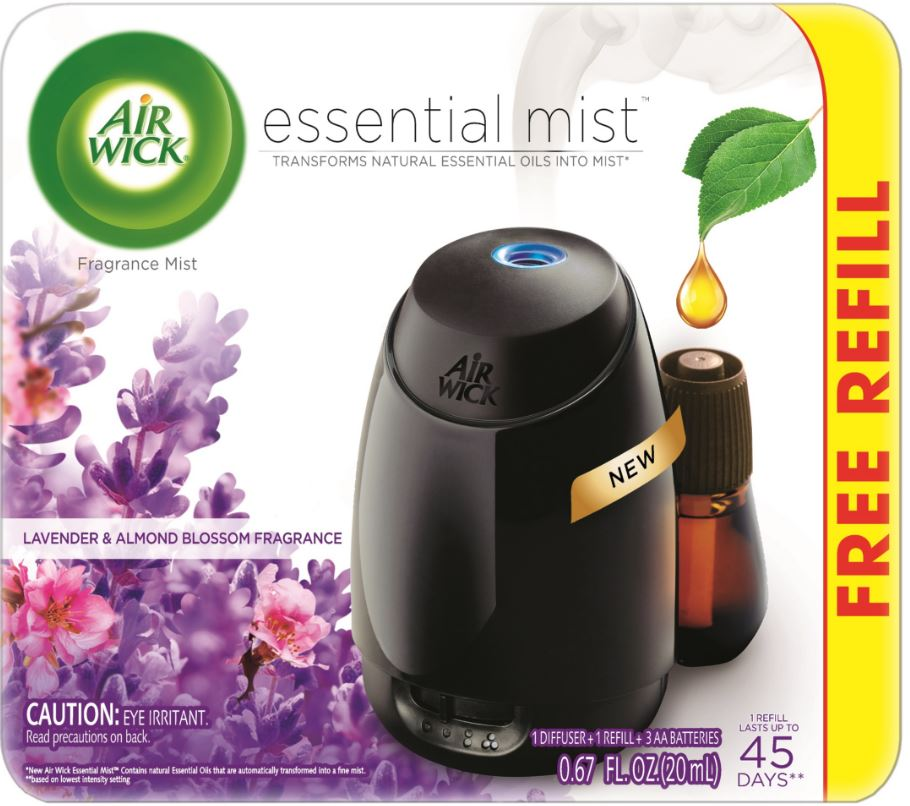 AIR WICK® Essential Mist Starter Kit - Lavender & Almond Blossom