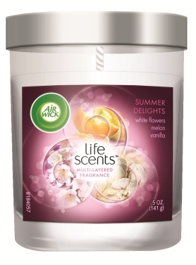 AIR WICK Fragranced Candle  Summer Delights Life Scents Photo