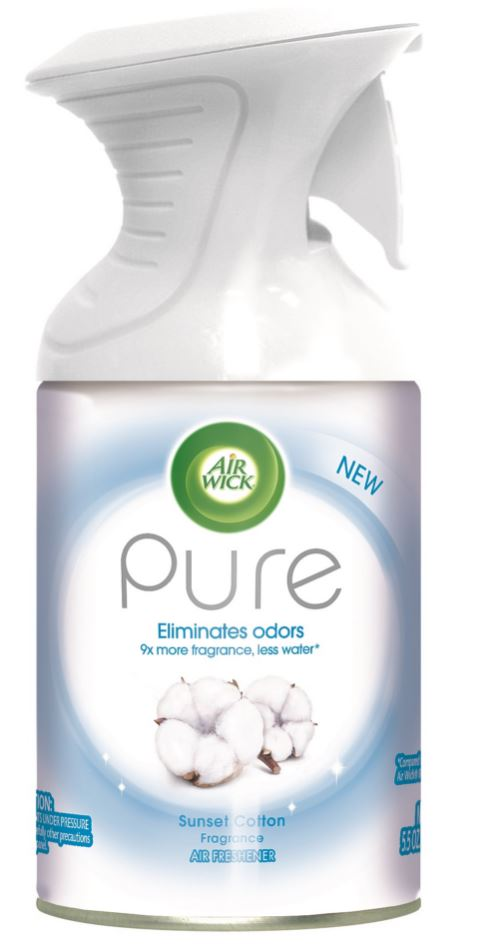 AIR WICK® Pure Air Freshener Aerosol - Sunset Cotton Fragrance