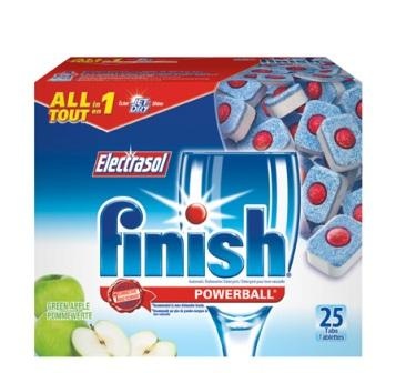 FINISH® POWERBALL® All In 1 Tabs - Green Apple