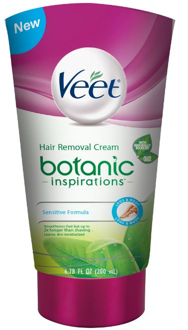 VEET Botanic Inspirations Hair Removal Cream  Sensitive Formula Photo