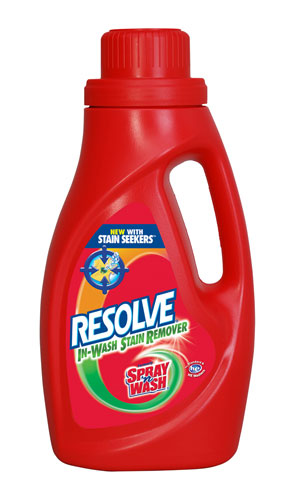 RESOLVE® IN WASH Laundry Stain Remover (US)