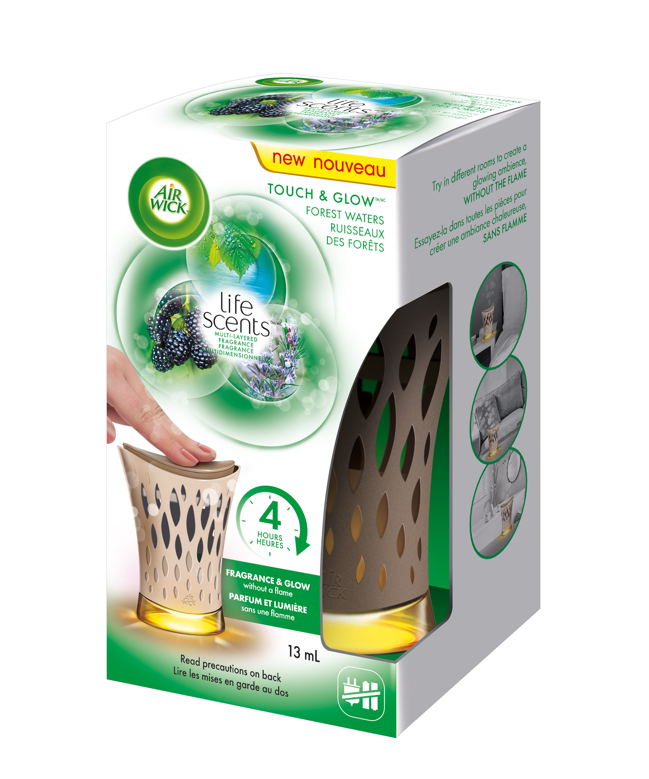 AIR WICK® Touch & Glow™ Life Scents™ - Forest Waters (Canada)