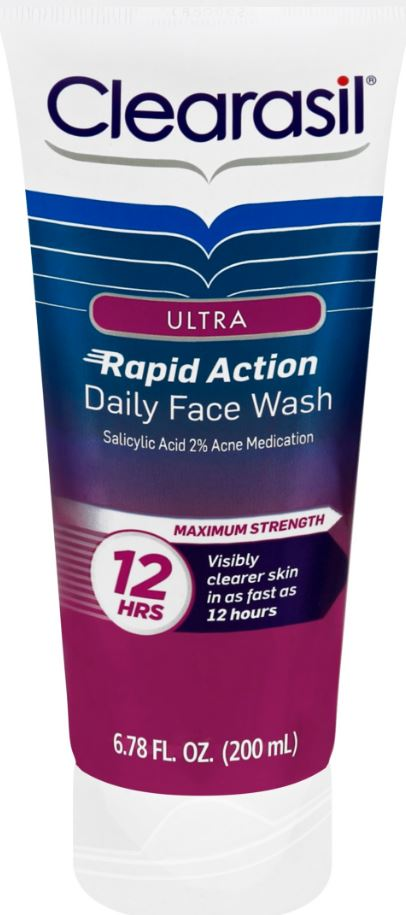 CLEARASIL® Ultra® Rapid Action Daily Face Wash
