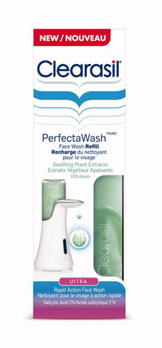 CLEARASIL® Ultra® PerfectaWash™ Ultra Rapid Action Face Wash - Soothing Plant Extracts