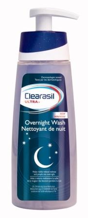 CLEARASIL® Ultra® Overnight Wash (Canada)