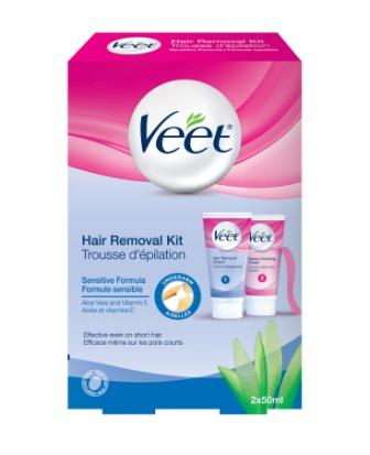 how to use veet facial hair removal cream