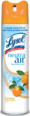 LYSOL® NEUTRA AIR® Sanitizing Spray - Energizing Citrus Zest