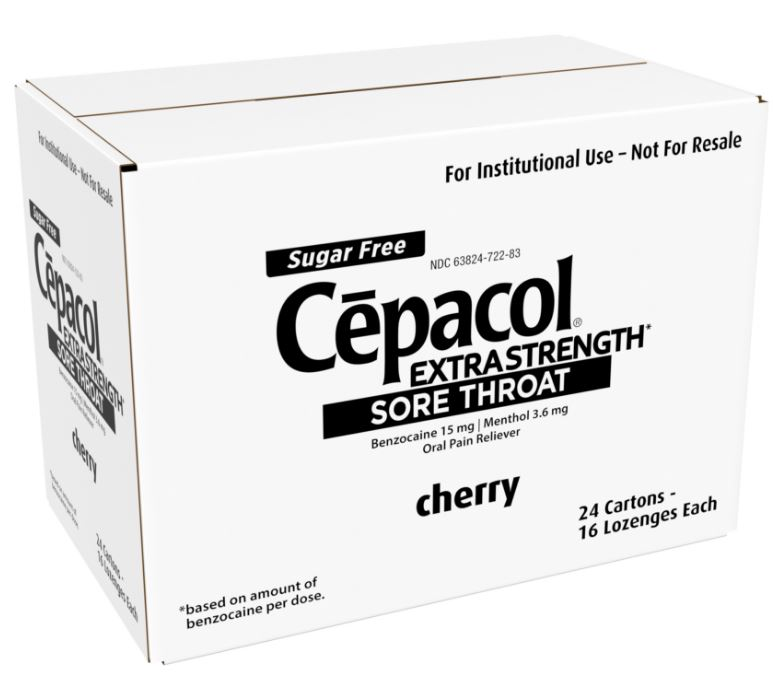 CEPACOL Institutional Pack  Cherry Lozenges Photo