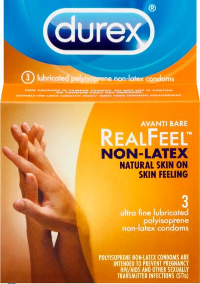 DUREX Avanti Bare RealFeel NonLatex Condoms Photo