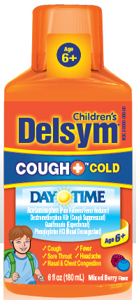DELSYM® Children's Cough+® Cold Day Time Liquid - Berry