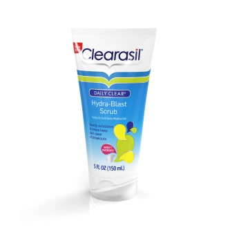 CLEARASIL® DAILY CLEAR® Hydra-Blast Oil-Free Face Scrub