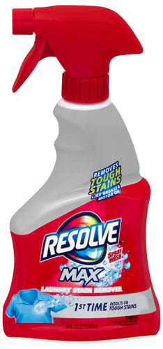 RESOLVE Max Laundry Stain Remover  Trigger Photo