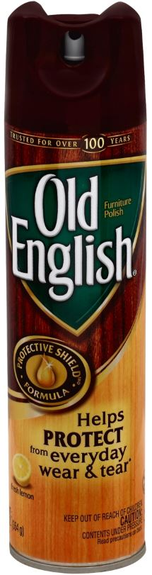 Old English Furniture Polish Aerosol Fresh Lemon