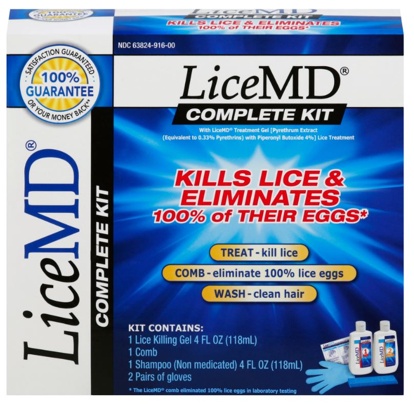 Lice MD® Complete Kit - Treatment Gel