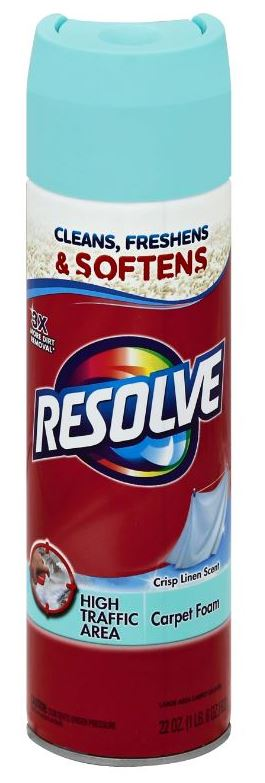RESOLVE® High Traffic Area Carpet Foam - Crisp Linen Scent