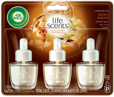 AIR WICK® Scented Oil - Mom's Baking (Life Scents™)