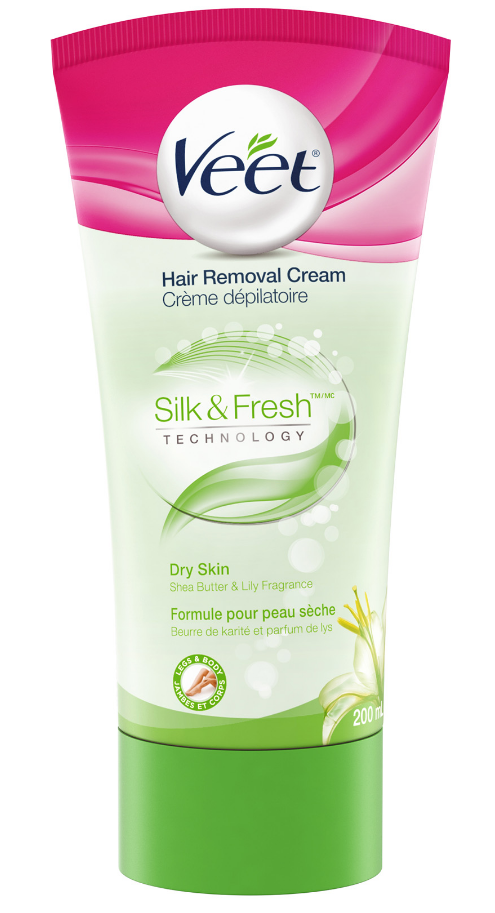 VEET® Silk & Fresh™ Hair Removal Cream Dry Skin -tube (Canada)