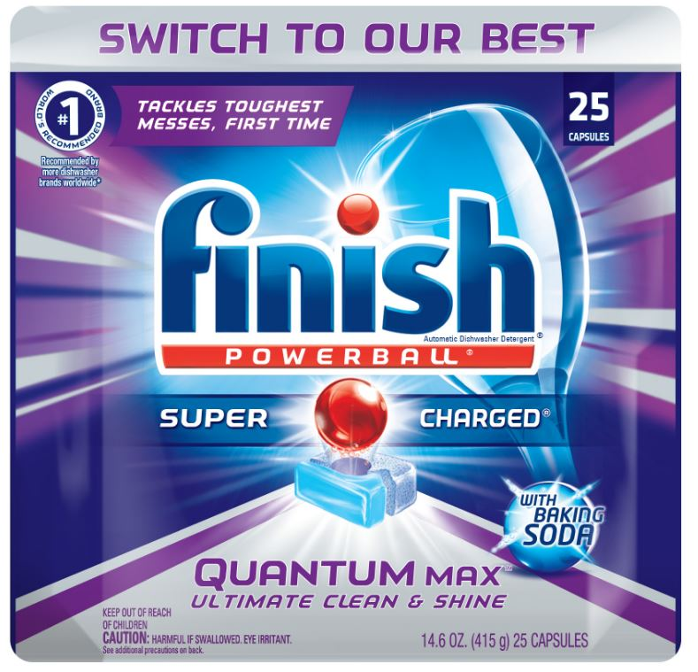 FINISH® Powerball® Quantum Max™ Capsules - With Baking Soda