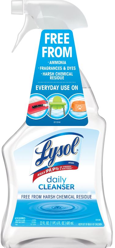 LYSOL Daily Cleanser  Trigger Photo