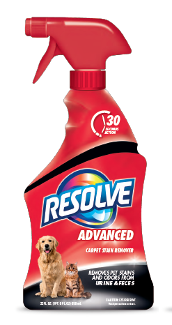 RESOLVE® Pet Advanced Carpet Stain Remover