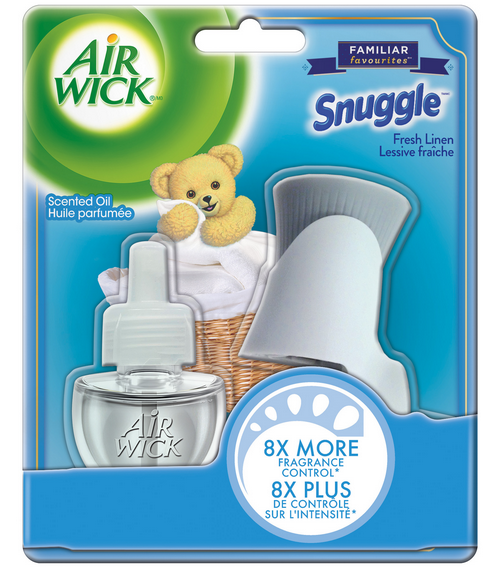 AIR WICK® Scented Oil - Snuggle® Fresh Linen (Canada)