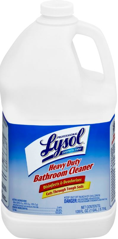 professional lysol® toilet bowl cleaner - complete clean power