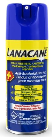 LANACANE® Spray Anesthetic (Canada)