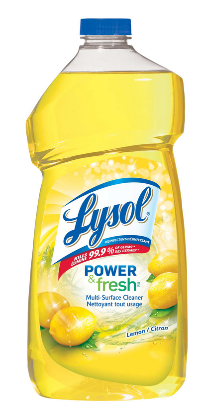 LYSOL® Power & Fresh™ Multi-Surface Cleaner - Lemon (Canada)