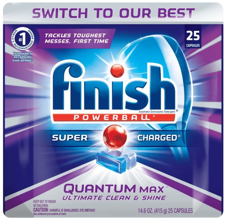 FINISH® Powerball® Quantum Max™ Capsules - Fresh Scent