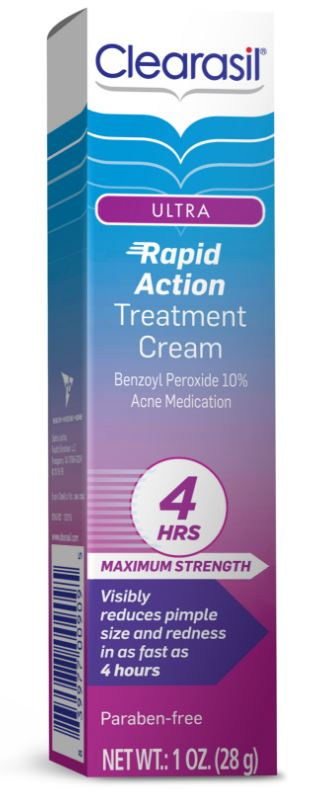 CLEARASIL® Ultra® Rapid Action Vanishing Treatment Cream