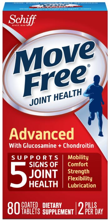MOVE FREE Advanced with Glucosamine  Chondroitin Tablets Photo
