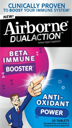 AIRBORNE Dual Action Tablets Photo