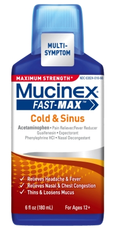 MUCINEX FASTMAX Cold  Sinus Liquid Photo