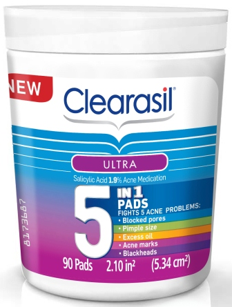 CLEARASIL® Ultra® 5 IN 1 Pads
