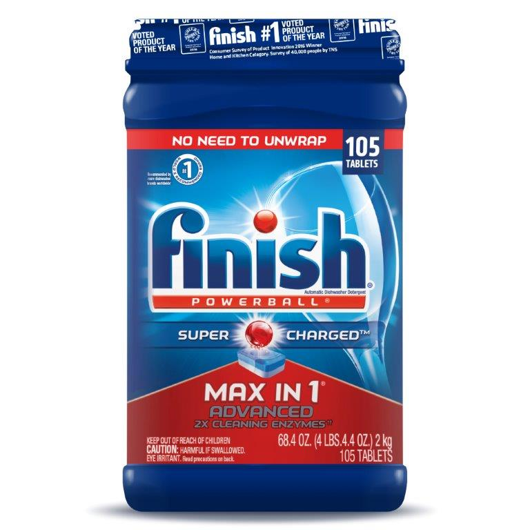 FINISH® Powerball® Max In 1™ Advanced Tabs