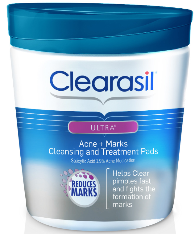 CLEARASIL® Ultra® Acne + Marks Cleansing and Treatment Pads