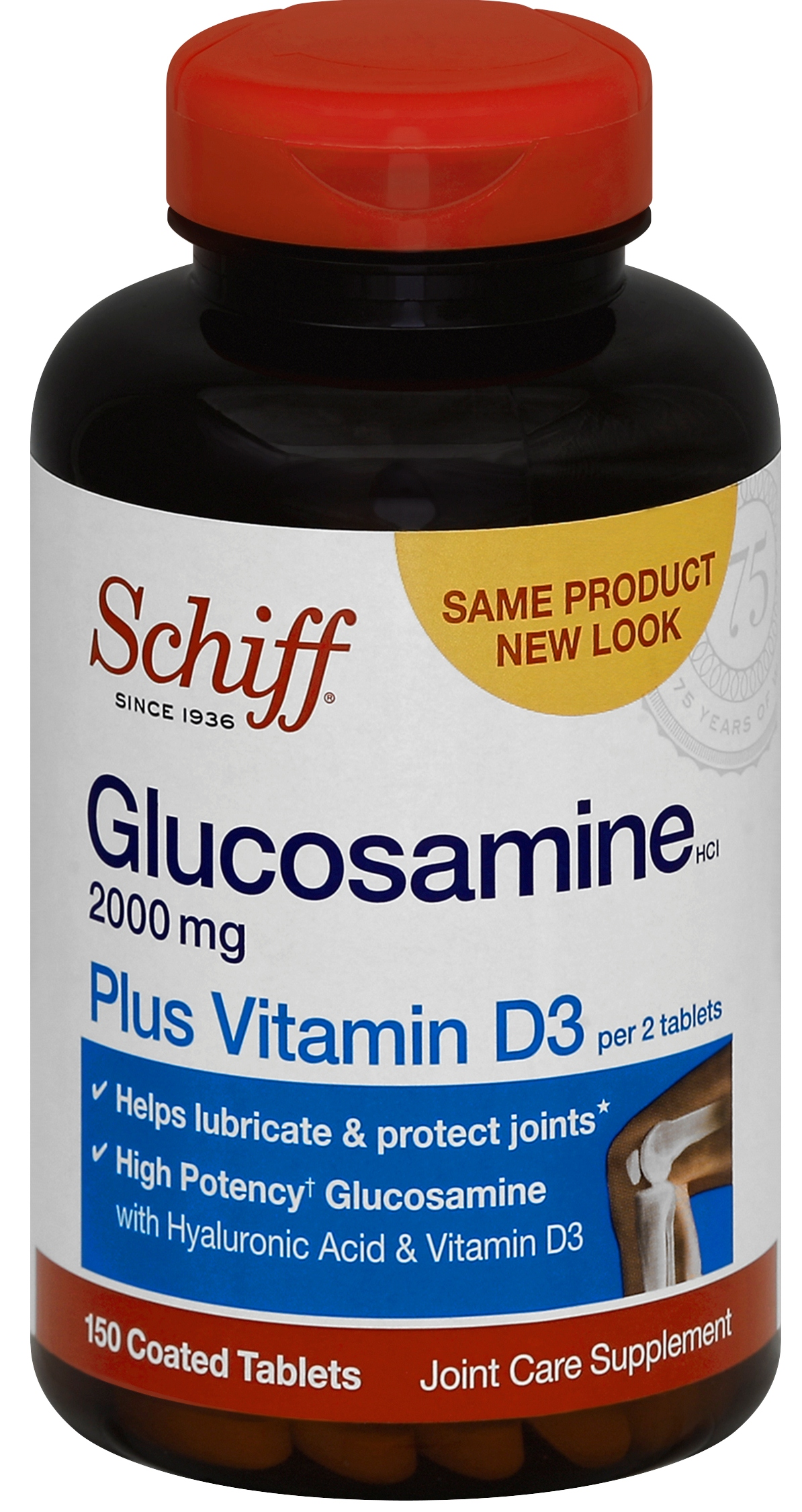 SCHIFF® Glucosamine 2000mg plus Vitamin D3