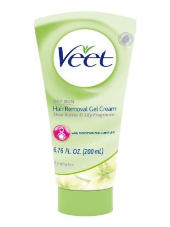 VEET® Hair Removal Gel Cream for Dry Skin - Shea Butter & Lily (Tube)