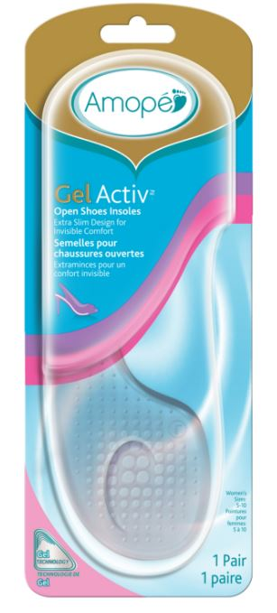 AMOPE GelActiv Open Shoes Insoles Canada Photo