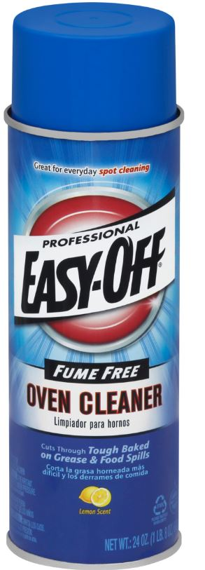Professional EASY-OFF® Fume Free Oven Cleaner - Lemon Scent