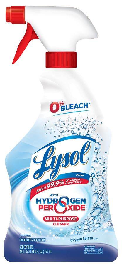LYSOL® Hydrogen Peroxide Multi-Purpose Cleaner - Oxygen Splash